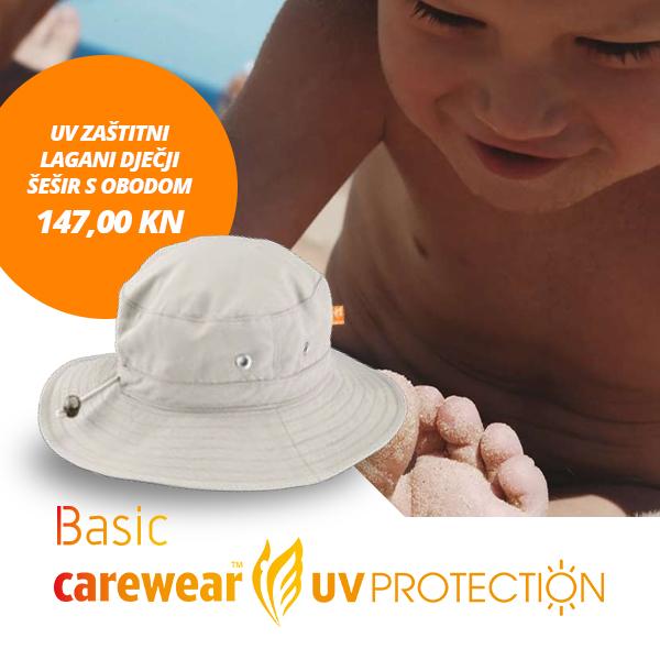 UV zaštitne kape i majice - zaštitimo najvrjednije