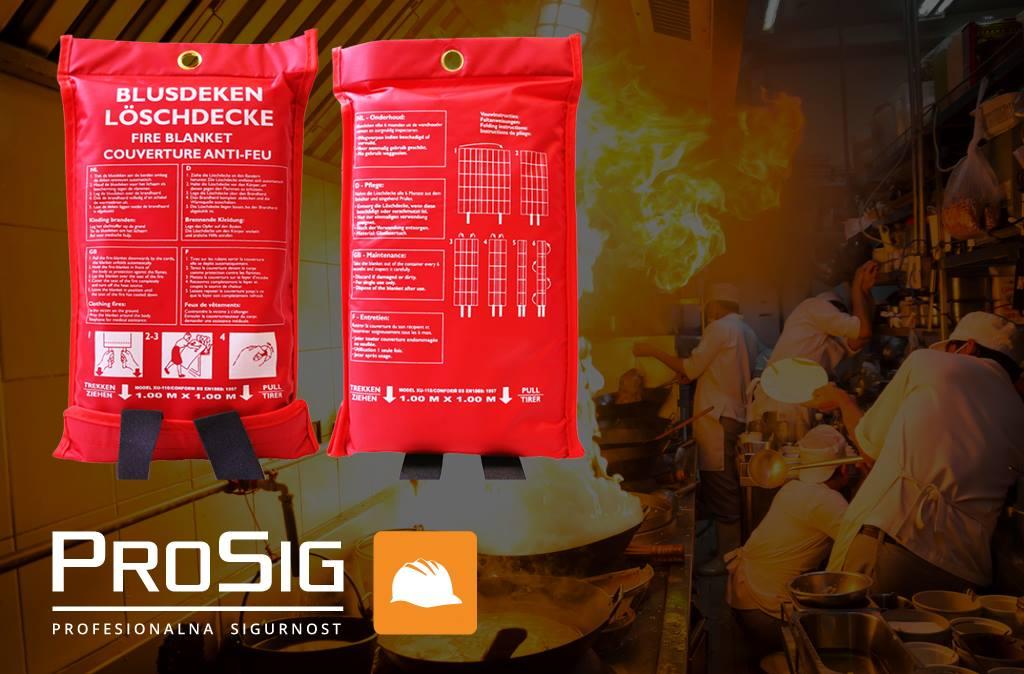 Vatrogasna deka je OBAVEZNA u ugostiteljskim objektima